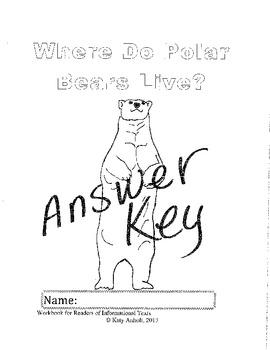 Workbooks for Informational Readers: Where do Polar Bears