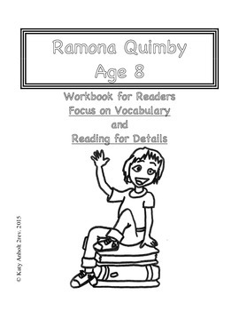 Workbooks for Readers: Ramona Quimby Age 8
