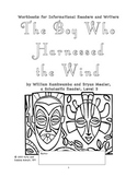Workbooks for Readers and Writers: The Boy Who Harnessed the Wind