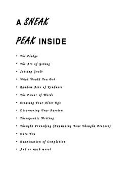 Workbook for Teen Girls