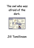 Workbook on the story 'The Owl who was afraid of the dark'