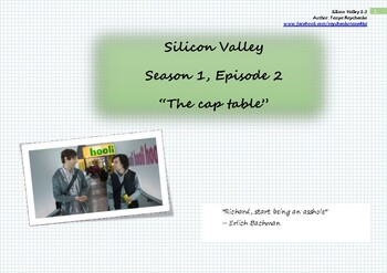 Workbook_English with TV series and movies. Silicon Valley. Season 1, episode 2