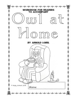 Workbooks for Readers:  Owl at Home