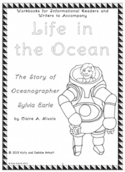 Workbooks for Readers and Writers: Life in the Ocean (Biography of Sylvia Earle)