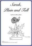 Workbooks for Readers and Writers: Sarah, Plain and Tall