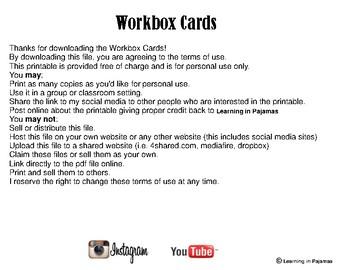 Workbox Labels