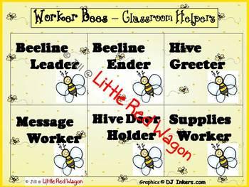 Worker Bees Classroom Helpers