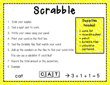 Workin' with Words: 7 Activities for Daily Word Work