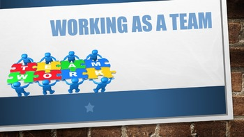 Working As A Team Lesson