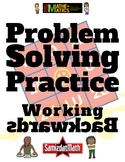 Working Backwards: Problem Solving with Maze Puzzles