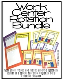 Work Center Rotation System- For Special Education Classroom
