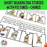 Sequencing Stories with Pictures Jigsaw Activities