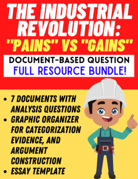 DBQ: Working Conditions of the Industrial Revolution (PAINS vs. GAINS!)