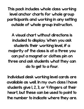 Working Levels: Classroom Management