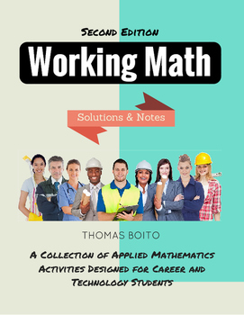 Working Math, Second Edition (Notes and Solutions)