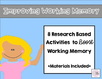 Working Memory Activities