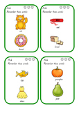 Working Memory - Categories level 3