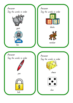Working Memory - Categories level 1
