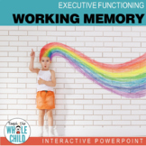 Working Memory Interactive PowerPoint–Executive Function S