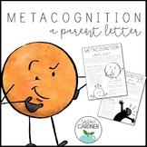 Metacognition Parent Letter