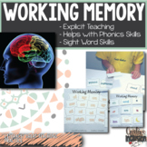 Working Memory, Step By Step with Explicit Teaching!