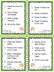 Working Memory - Task Cards