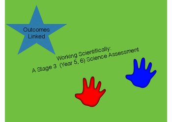 Working Scientifically Science Skills Assessment