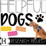 Working Service Dogs Research Project