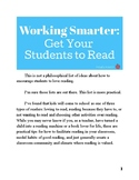 Working Smarter: Get Your Students to Read