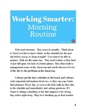 Working Smarter: Setting Up a Morning Routine