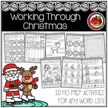 Working Through Christmas - No Prep