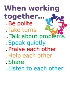 Working Together Poster