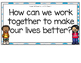 Working Together-Supplemental Activities for Wonders Unit