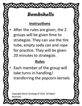 Working Together: Team-building activities