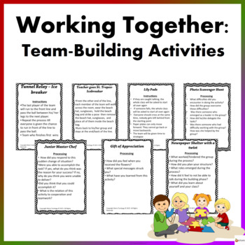 Team-building Activities: Working Together