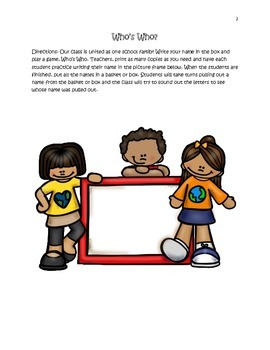 Martin Luther King Day: One Dream Worksheets