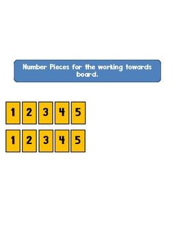 Working Towards 1-5 Visual Reinforcement Board