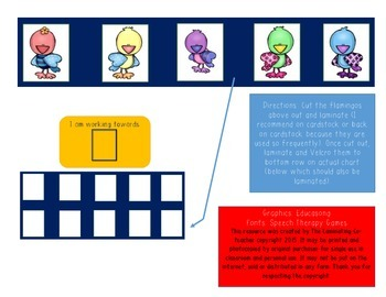 Working Towards Star Chart (Great for Special Ed)! 5 Bird Edition