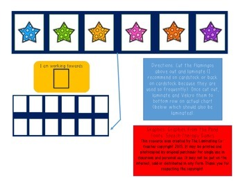 Working Towards Star Chart (Great for Special Ed)! 6 Star Edition