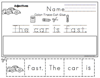 Working With Adjectives