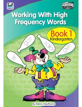 Working With High Frequency Words - Book 1