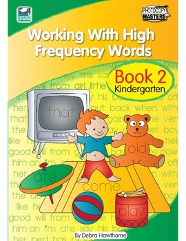 Working With High Frequency Words - Book 2