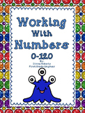 Working With Numbers 0-120 Common Core State Standards listed on every page