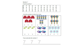 Working With Numbers Bundle