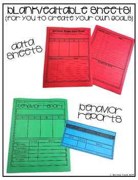 Working With Others- Behavior Basics Data Bundle