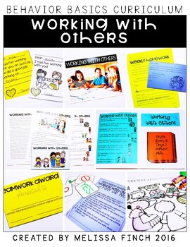 Working With Others- Behavior Basics Program for Special Education