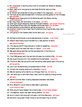 Working With Verb Phrases