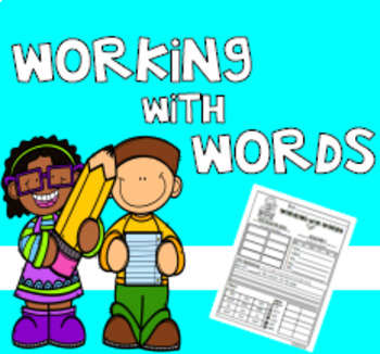 Working With Words (Hunks and Chunks)