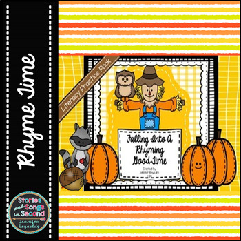 Working With Words Literacy Pack--Falling Into A Rhyming G