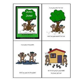 Working Words Bundle Set 1:  Rhyming Words, Prepositions, Opposite Words